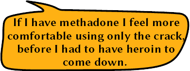 People's views: Methadone makes crack better – Lifeinmymind